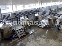 заторный, сусловарочный, фильтрационный, водогрейный аппараты НОМАС