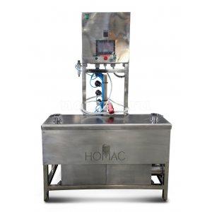 Полуавтоматическая установка мойки и заполнения кег на 2 бака - купить у производителя