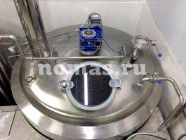 емкости варочного порядка пивзавода «Atmosphere Brewery»