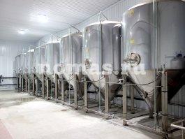Трёхтонный пивзавод во Владикавказе