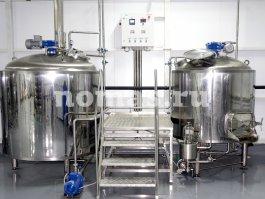варочный порядок пивзавода НОМАС 1000 литров
