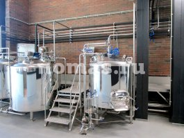 Пивоварня НОМАС для Villa Aristov Группы Компаний «Ариант»