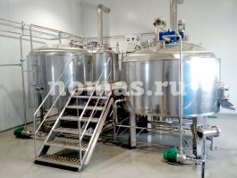 варочный порядок пивоварни «Shevron» в Самаре