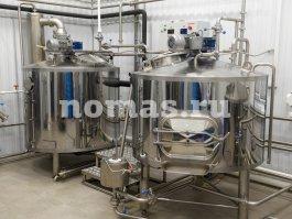 варочное отделение пивзавода 500 литров НОМАС