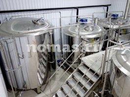 Трёхкубовый пивоваренный завод во Владикавказе