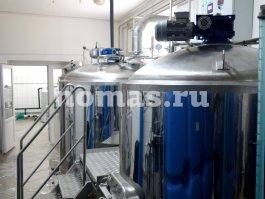 варочное отделение частной пивоварни ПИНТА в Челябинске