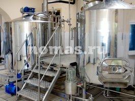 варочный порядок пивзавода 1000 литров НОМАС