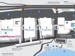 Схема проезда BevialeMoscow 2019