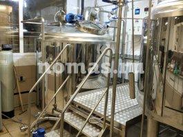 варочное отделение пивоварни НОМАС
