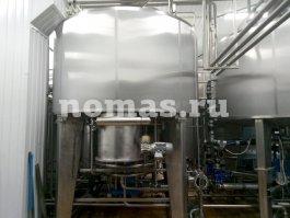 Емкости пятитонного пивзавода НОМАС