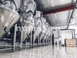 бродильное отделение пивоварни Мечты