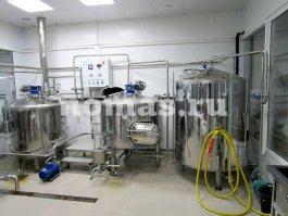 варочный порядок пивоварни 500 литров