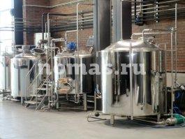 варочный порядок пивоварни НОМАС