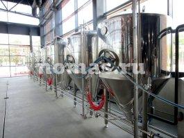 цилиндро-конический танк для пива