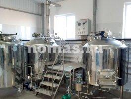 Пивоварня 1000 литров для ТОО «АтырауАгро?нiмдерi»