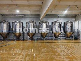 бродильное отделение пивоварни КОВЕН