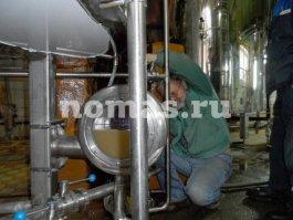 Реконструкция оборудования пивзавода в городе Мелеуз