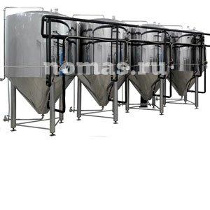 Cylinder-conic tanks for fermentation and postfermentation - купить у производителя