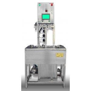 Полуавтоматическая установка мойки и заполнения кег на 1 бак - купить у производителя