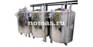 Аппарат брожения БА 0,5 м³ - купить у производителя