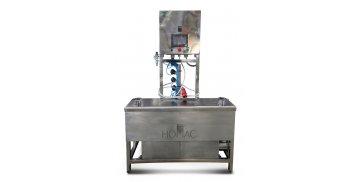 Автоматическая установка мойки кег на 2 бака, нагрев ТЭНами - купить у производителя