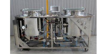 Микропивоварня для отработки сортов (100 л) - купить у производителя