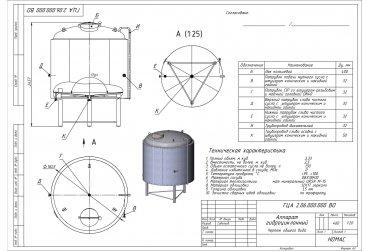 Гидроциклонный аппарат ГЦ 2,0 м³ - купить у производителя