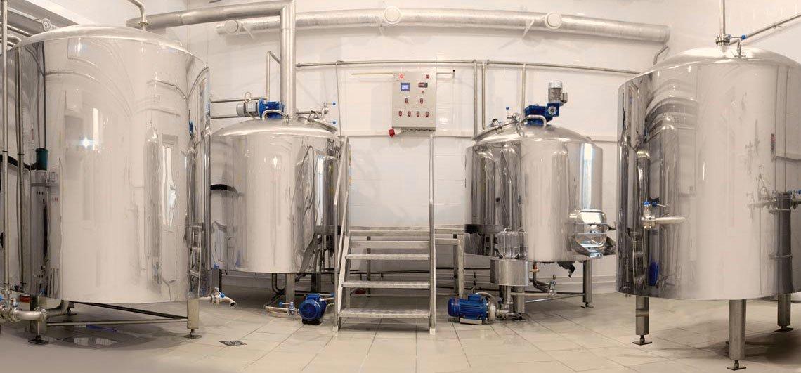 Пивоварни и мини пивзаводы «под ключ» - купить у производителя