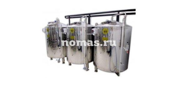 Аппарат брожения БА 5 м³ - купить у производителя