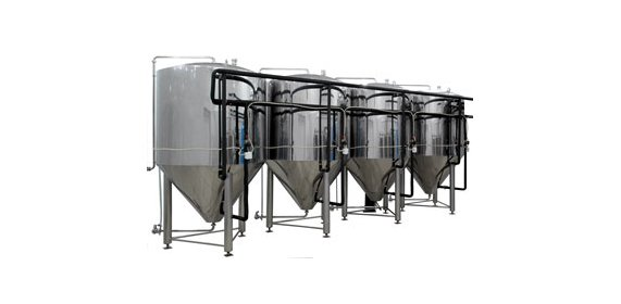 Cylinder-conic tanks for fermentation and postfermentation - купить у производителя