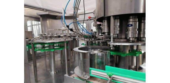 Линия розлива и пастеризации напитков - купить у производителя