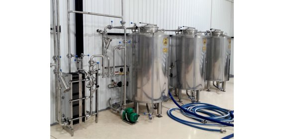 Отделение CIP (СИП-станция) 0,5 м³ - купить у производителя