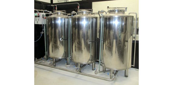 Отделение CIP (СИП-станция) 1 м³ - купить у производителя