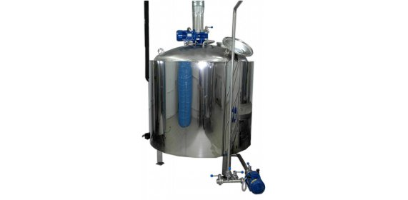 Mashing and wort boiling machine - купить у производителя