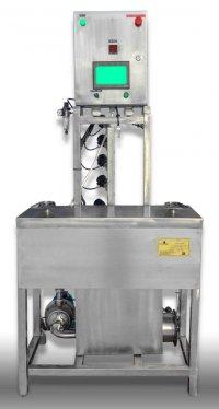 Автоматическая установка мойки кег на 2 бака (нагрев паром) - купить у производителя